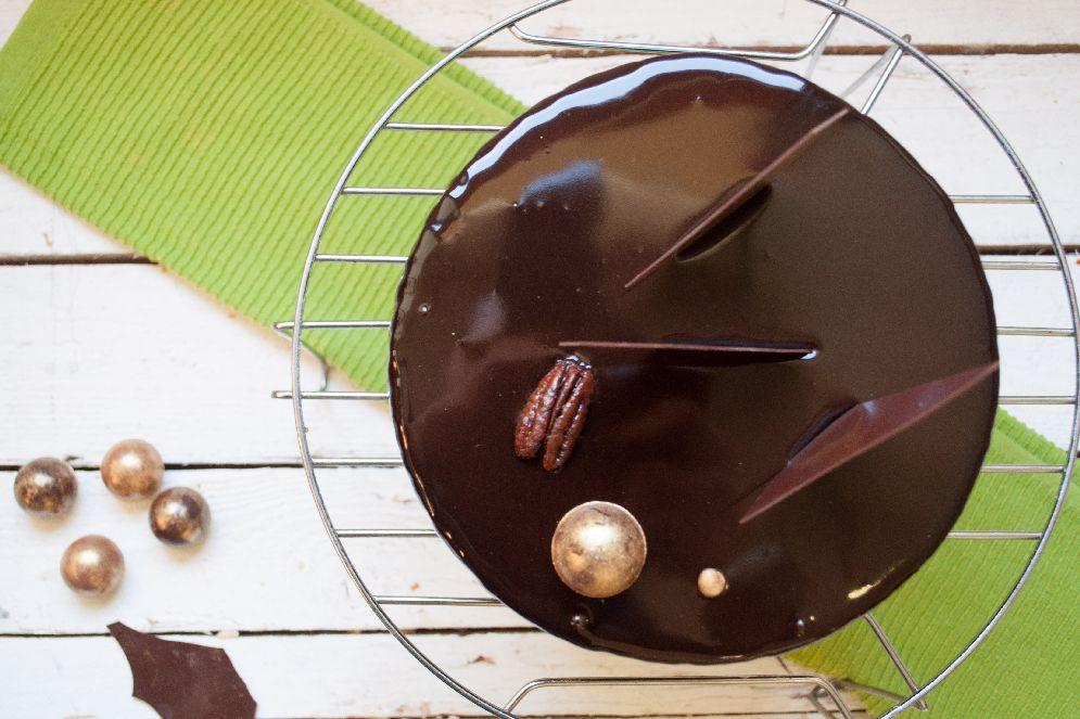עוגת מוס שוקולד של מיקי שמו