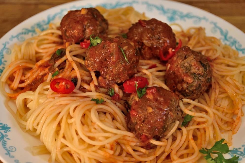 ספגטי כדורי בשר של עומר מילר