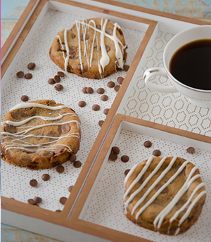 עוגיות שוקולד צ'יפס של אור שפיץ.