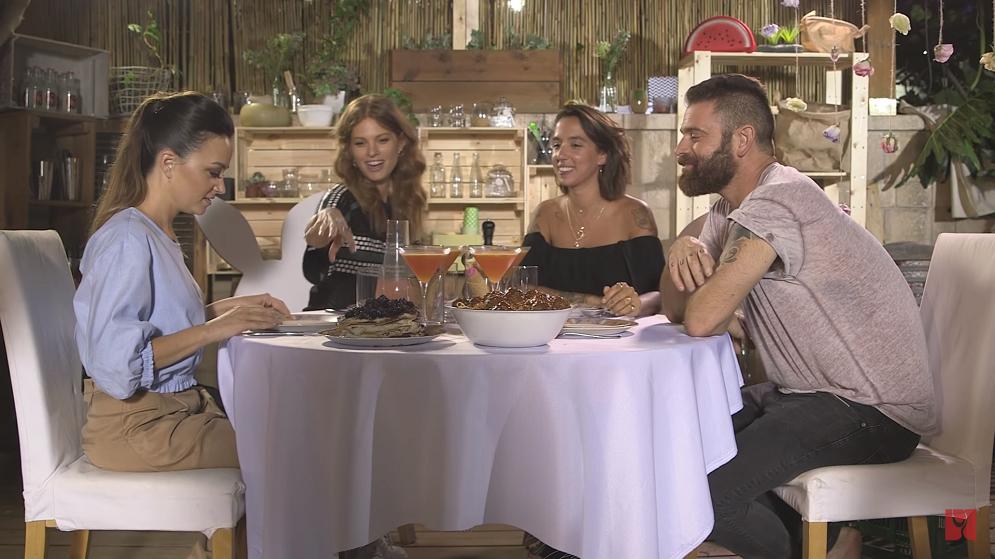 סטוריז – פרק 4: ערב איטלקי עם יובל שרף ונלי תגר
