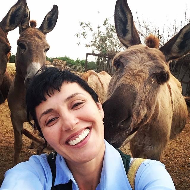 החיים על פי נועה תשבי: ננה שרייר על הסט