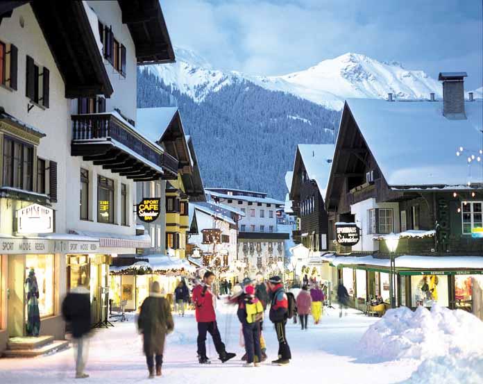 גולשים בסטייל: חופשות הסקי של האלפיון העליון