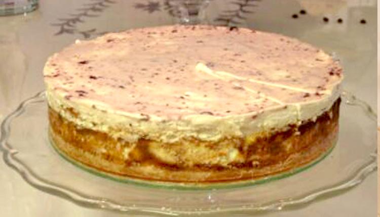 עוגת גבינה ונילה צ'יז קייק של דודו אוטמזגין