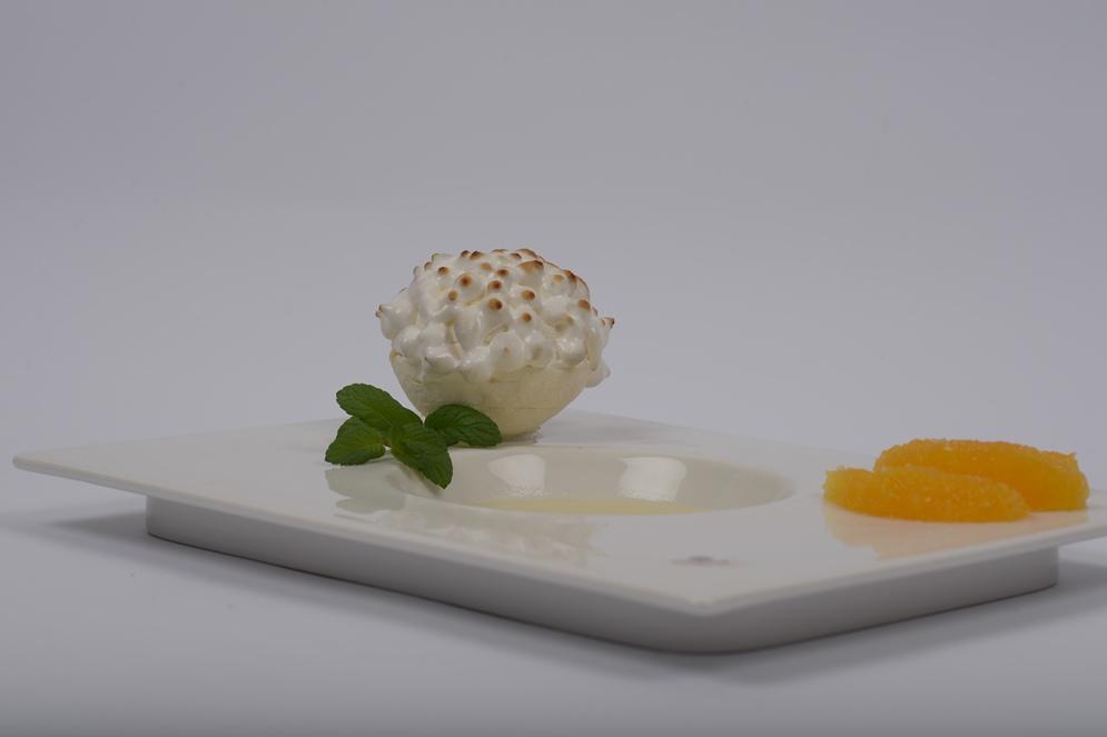 כדורי מרנג במילוי קרם לימון של צ'רלי פדידה