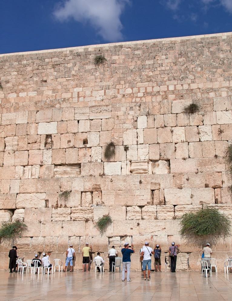 הכותל המערבי, ירושלים.