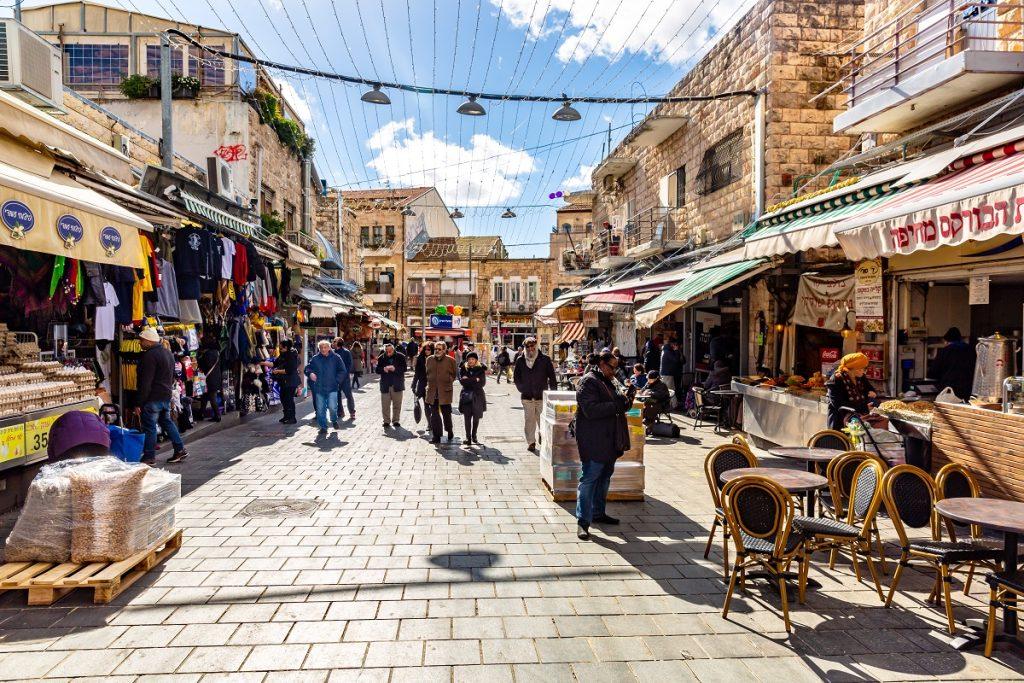 שוק מחנה יהודה, ירושלים.