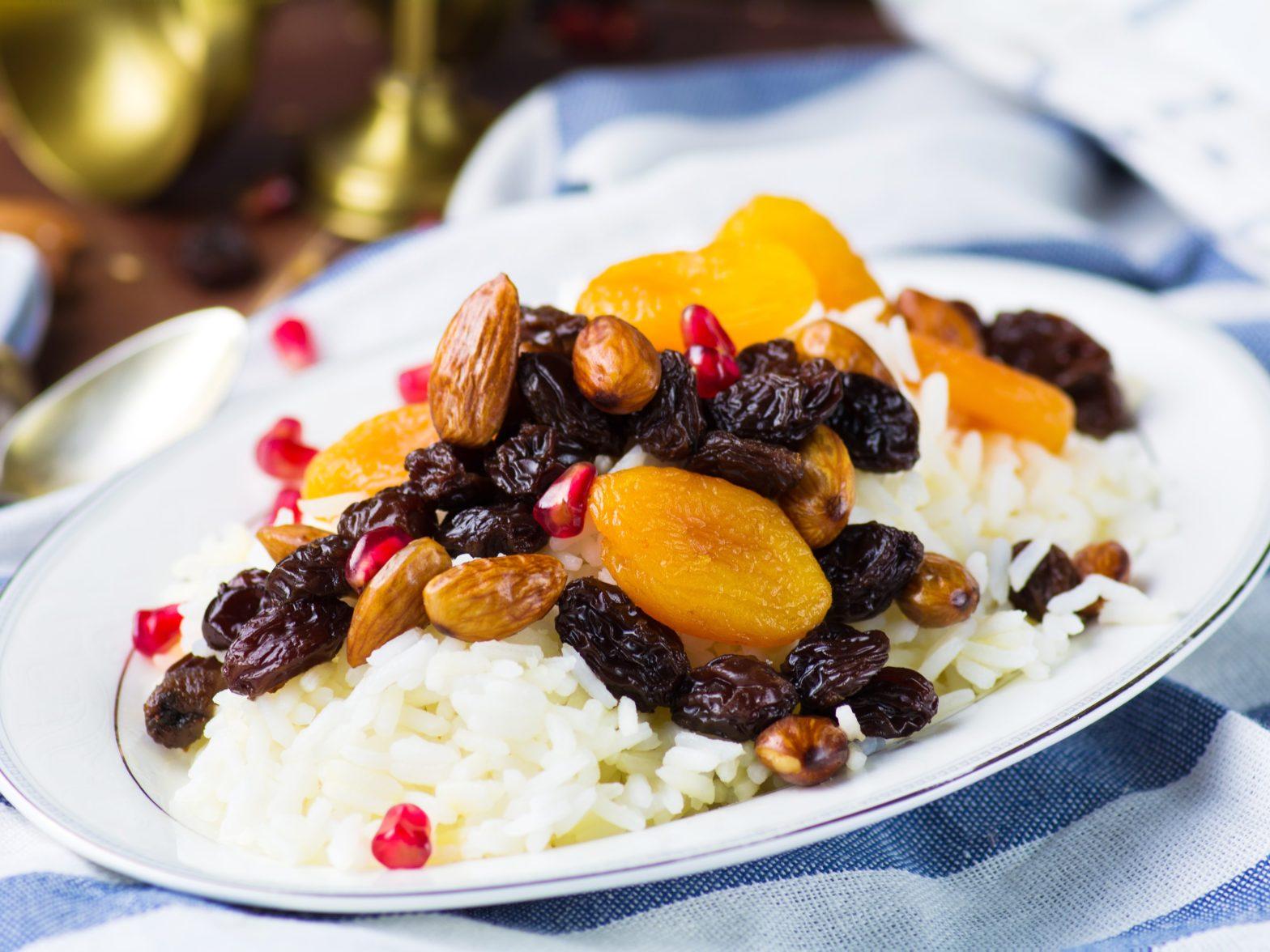 אורז עם פירות יבשים של איילת לטוביץ'