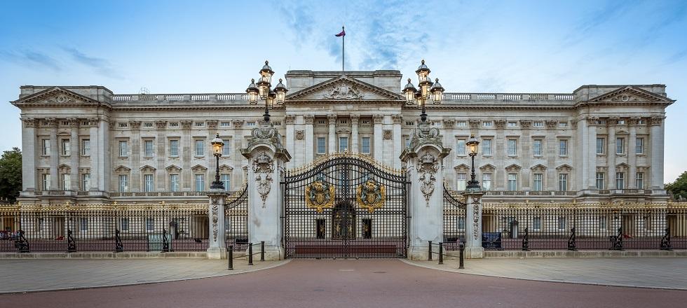 ארמון בקינגהאם, לונדון.