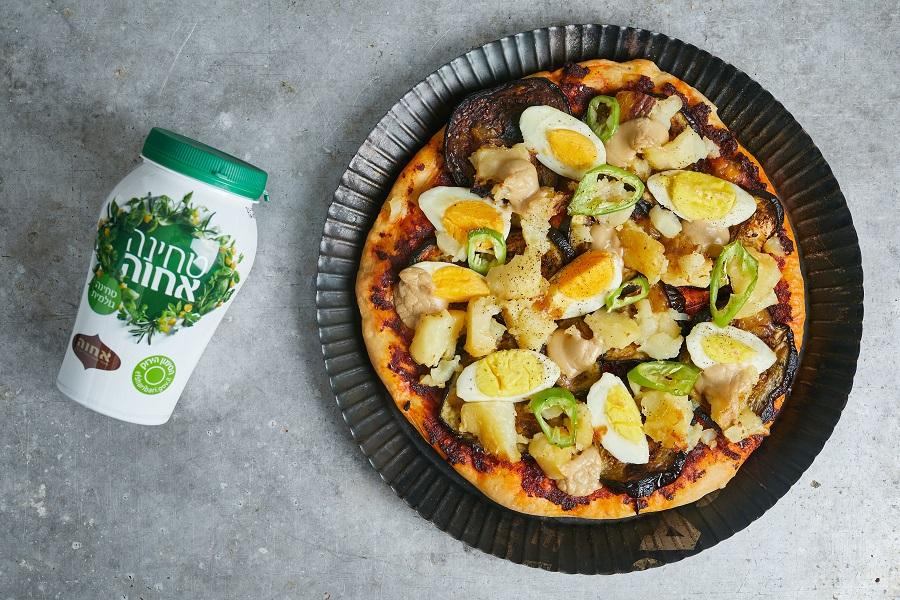 פיצה סביח של ג'קי אזולאי