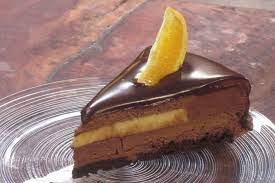 עוגת מוס שוקולד וקרם ברולה תפוזים של מיקי שמו