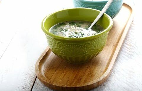 מרק שעועית לבנה ופטריות שיטאקי של ניר צוק