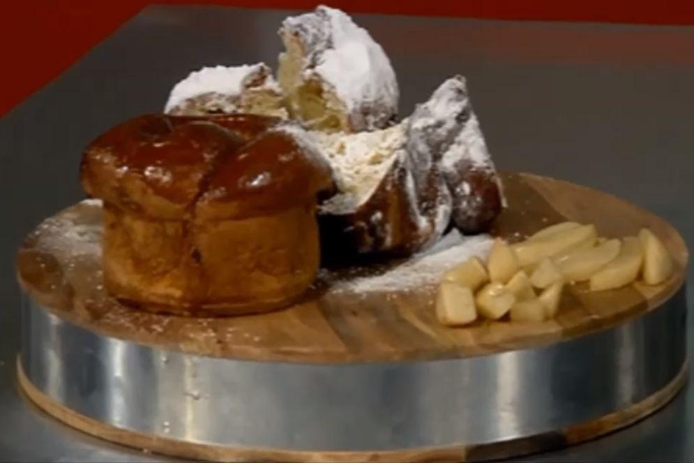 עוגת שמרים, אגסים ודבש של אורן בקר