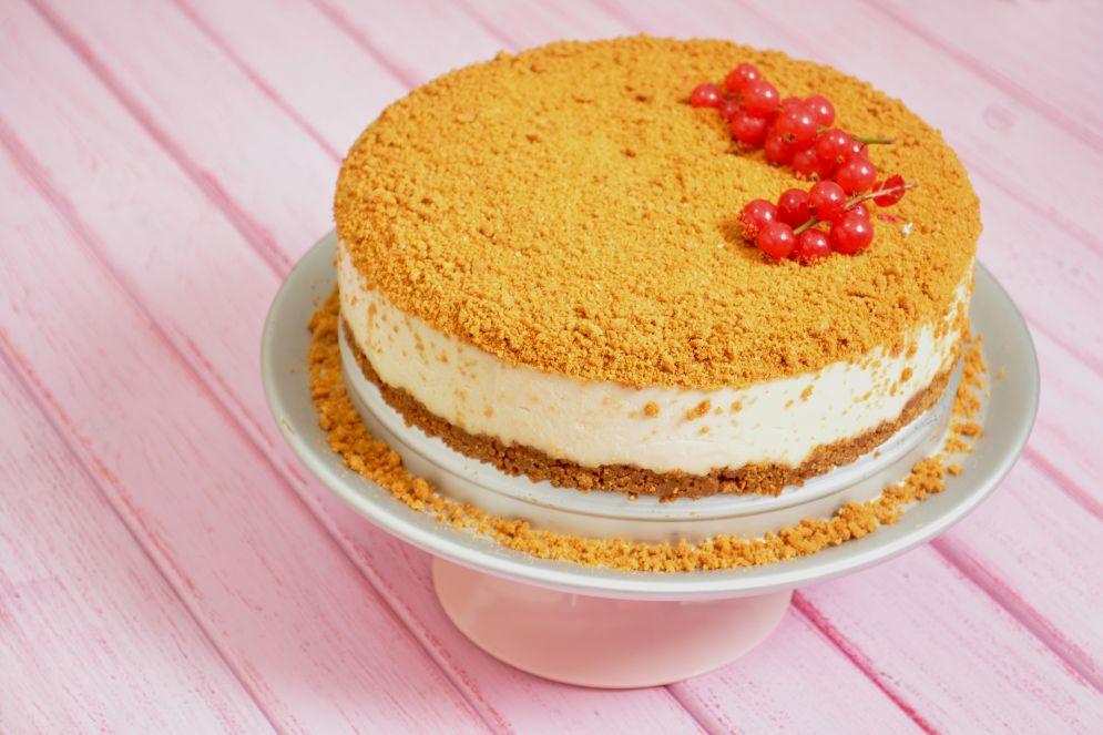 """עוגת גבינה טבעונית של רחלי, אחות של """"מתוקה"""""""